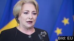Rumäniens socialdemokratiska premiärminister Viorica Dancila besökte parlamentet i onsdags för att prata med S-gruppen.