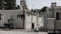 Ett flyktingläger vid grekiska Ritsona. Arkivbild.