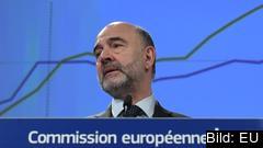 EU:s ekonomikommissionär Pierre Moscovici.