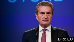 EU:s budgetkommissionär Günther Oettinger menar att tiden är knapp för att hinna enas om nästa långtidsbudget.