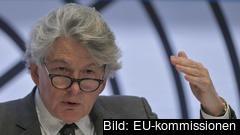 Kommissionär Thierry Breton berättar att vissa företag har behövt flytta sin produktion till Europa för att inte kompromissa hälsoaspekter.