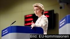 EU-kommissionen föreslår bland annat att speciella vägar ska upprättas där transport av väsentliga produkter får passera på inre marknaden.