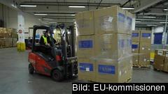 Tyskland och Rumänien har öppnat lokaler för det gemensamma EU-lagret av medicinsk utrustning, finansierat av EU:s budget.
