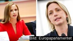 Sara Skyttedal (KD) skriver inte under det nya klimatupproret då hon saknar konsekvensalanyser, detta gör dock Jytte Guteland (S).