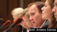 Statsminister Stefan Löfven (S) i möte med riksdagens EU-nämnd 17 oktober 2018.